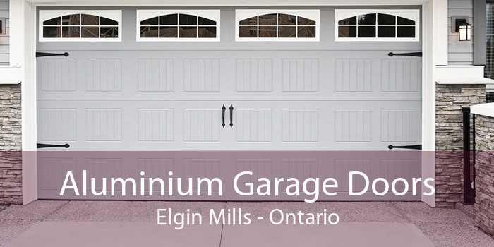 Aluminium Garage Doors Elgin Mills - Ontario
