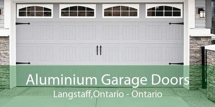 Aluminium Garage Doors Langstaff,Ontario - Ontario