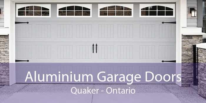 Aluminium Garage Doors Quaker - Ontario