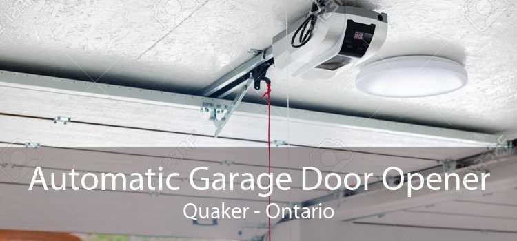Automatic Garage Door Opener Quaker - Ontario