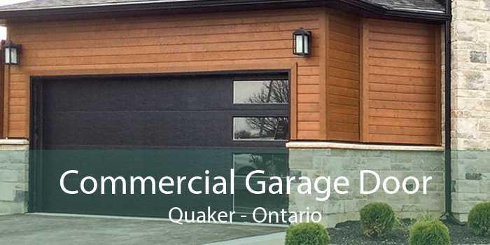 Commercial Garage Door Quaker - Ontario