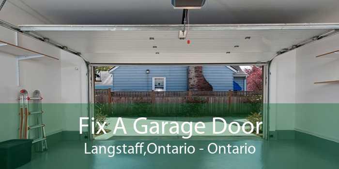 Fix A Garage Door Langstaff,Ontario - Ontario