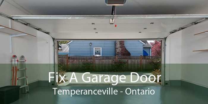 Fix A Garage Door Temperanceville - Ontario