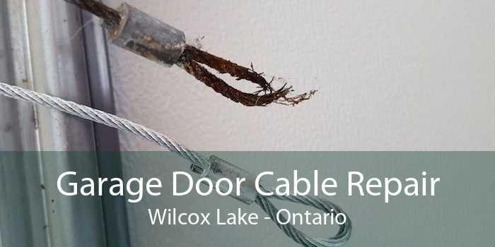 Garage Door Cable Repair Wilcox Lake - Ontario