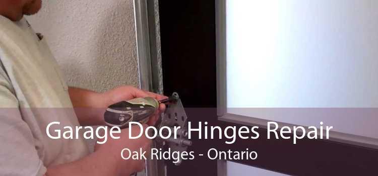 Garage Door Hinges Repair Oak Ridges - Ontario