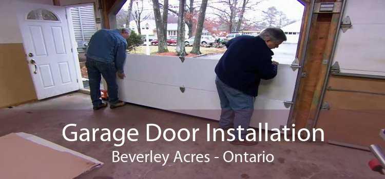 Garage Door Installation Beverley Acres - Ontario