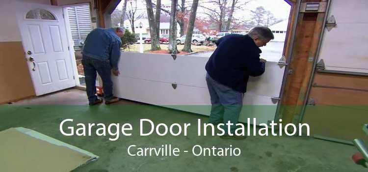Garage Door Installation Carrville - Ontario