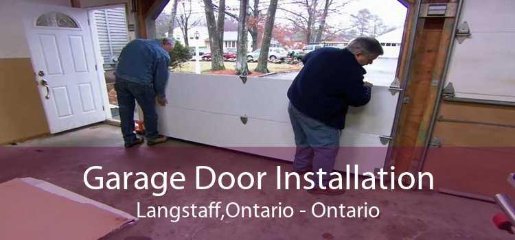 Garage Door Installation Langstaff,Ontario - Ontario