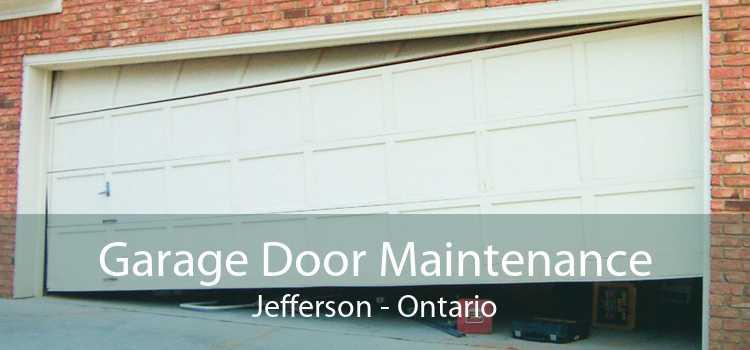 Garage Door Maintenance Jefferson - Ontario