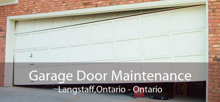 Garage Door Maintenance Langstaff,Ontario - Ontario