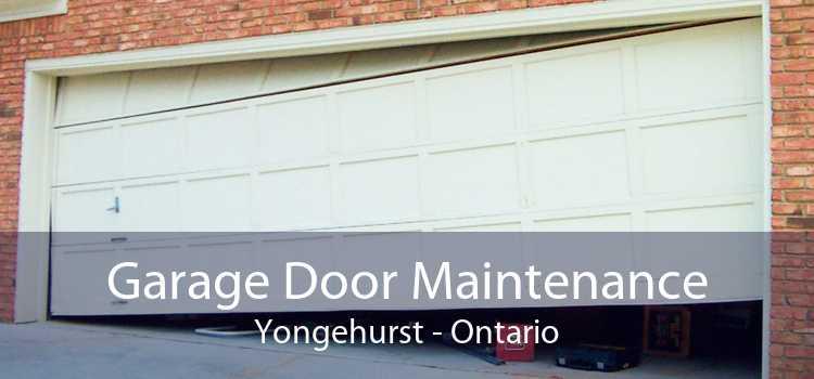 Garage Door Maintenance Yongehurst - Ontario