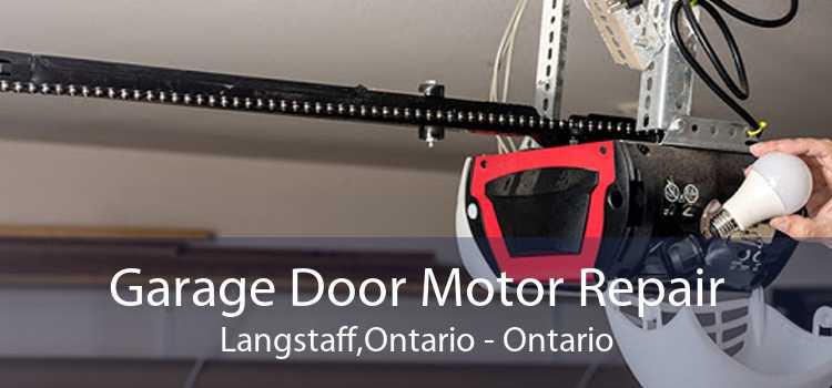 Garage Door Motor Repair Langstaff,Ontario - Ontario