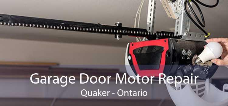 Garage Door Motor Repair Quaker - Ontario