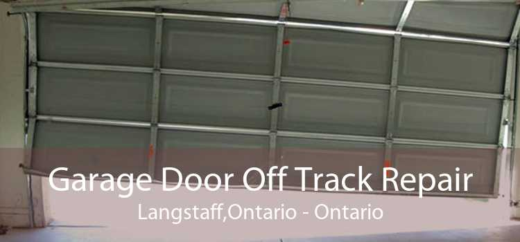 Garage Door Off Track Repair Langstaff,Ontario - Ontario