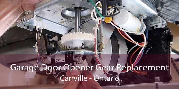 Garage Door Opener Gear Replacement Carrville - Ontario