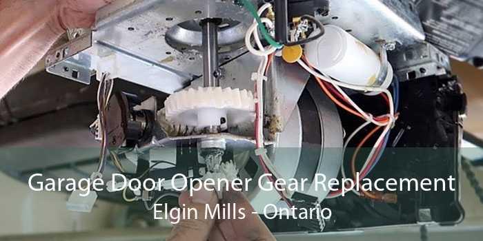 Garage Door Opener Gear Replacement Elgin Mills - Ontario