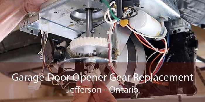 Garage Door Opener Gear Replacement Jefferson - Ontario