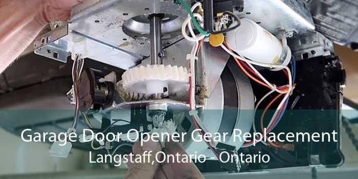 Garage Door Opener Gear Replacement Langstaff,Ontario - Ontario