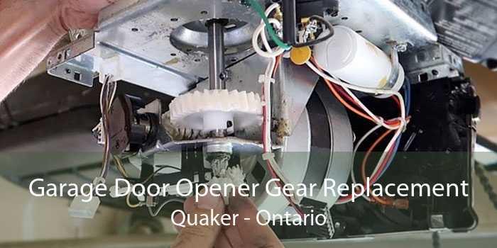 Garage Door Opener Gear Replacement Quaker - Ontario