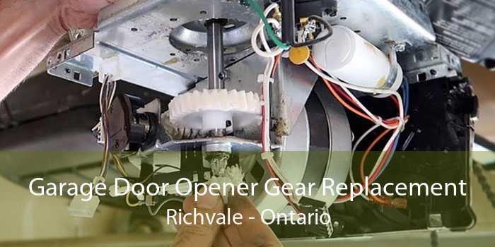Garage Door Opener Gear Replacement Richvale - Ontario