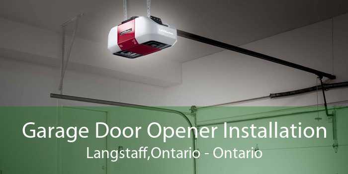 Garage Door Opener Installation Langstaff,Ontario - Ontario
