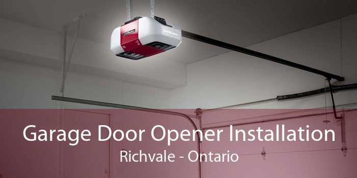 Garage Door Opener Installation Richvale - Ontario