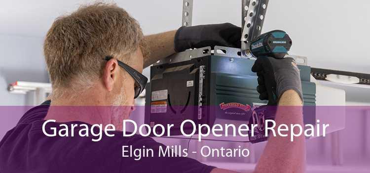 Garage Door Opener Repair Elgin Mills - Ontario