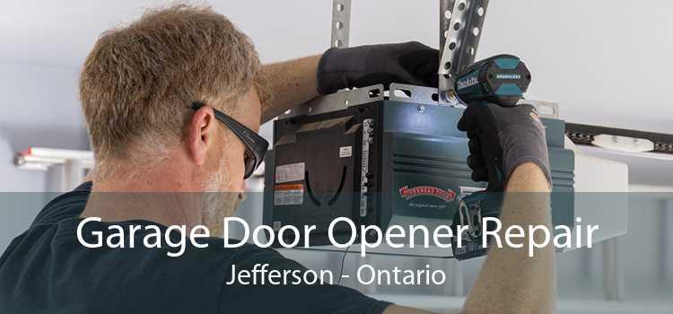 Garage Door Opener Repair Jefferson - Ontario