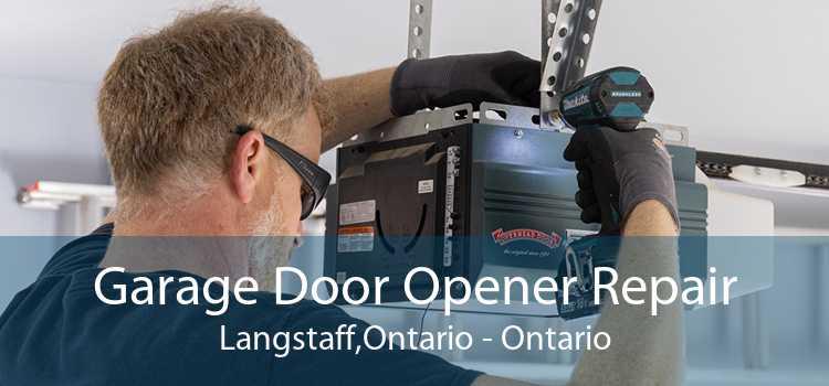 Garage Door Opener Repair Langstaff,Ontario - Ontario