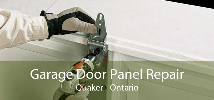 Garage Door Panel Repair Quaker - Ontario