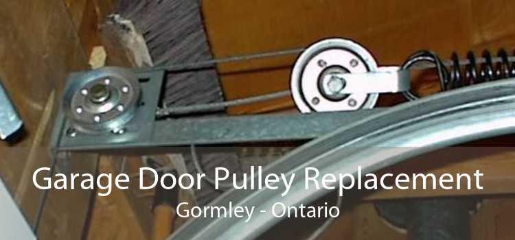 Garage Door Pulley Replacement Gormley - Ontario
