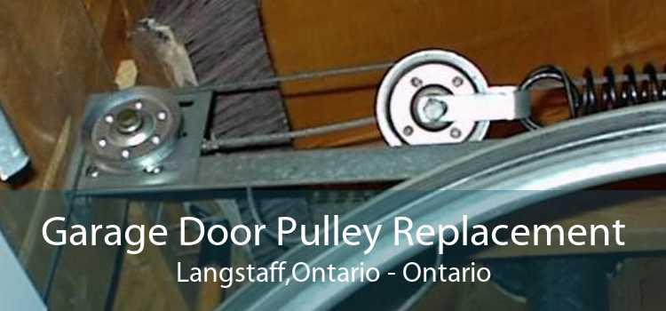 Garage Door Pulley Replacement Langstaff,Ontario - Ontario