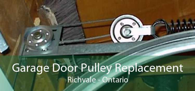 Garage Door Pulley Replacement Richvale - Ontario