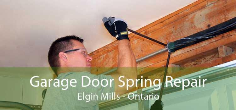Garage Door Spring Repair Elgin Mills - Ontario