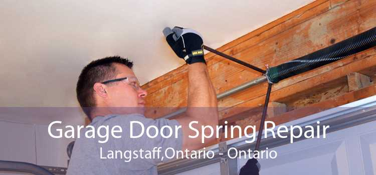 Garage Door Spring Repair Langstaff,Ontario - Ontario