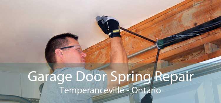 Garage Door Spring Repair Temperanceville - Ontario