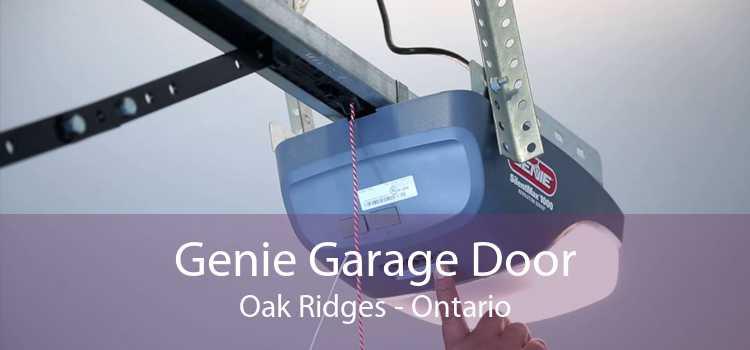 Genie Garage Door Oak Ridges - Ontario