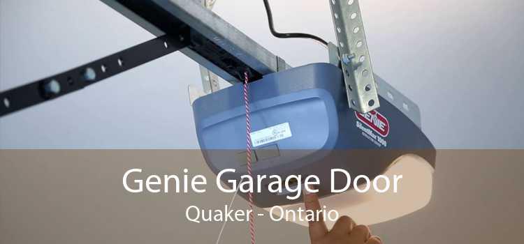 Genie Garage Door Quaker - Ontario