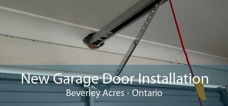New Garage Door Installation Beverley Acres - Ontario