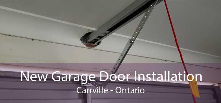 New Garage Door Installation Carrville - Ontario