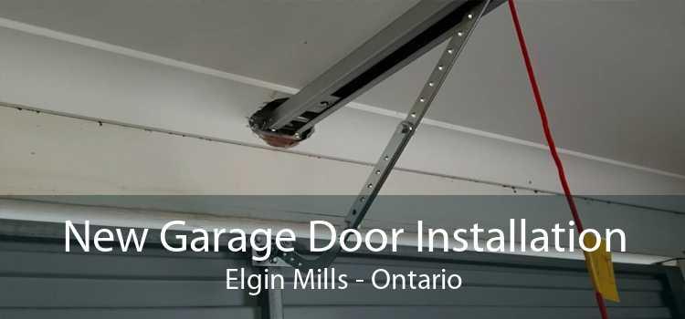 New Garage Door Installation Elgin Mills - Ontario