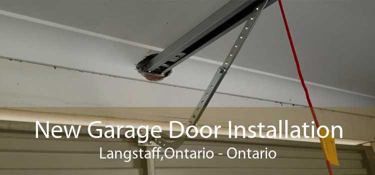 New Garage Door Installation Langstaff,Ontario - Ontario