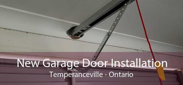New Garage Door Installation Temperanceville - Ontario