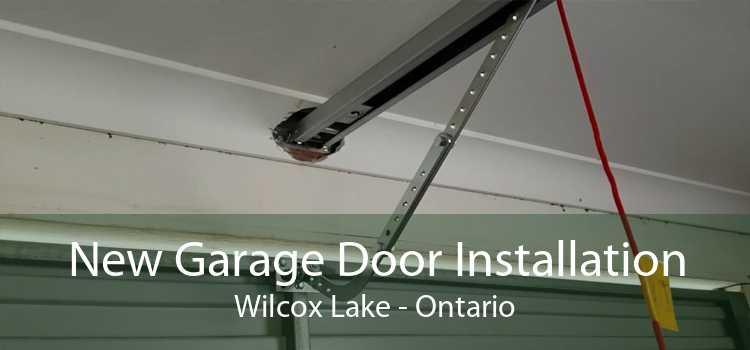 New Garage Door Installation Wilcox Lake - Ontario