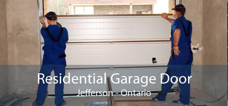Residential Garage Door Jefferson - Ontario