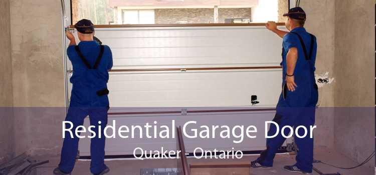 Residential Garage Door Quaker - Ontario