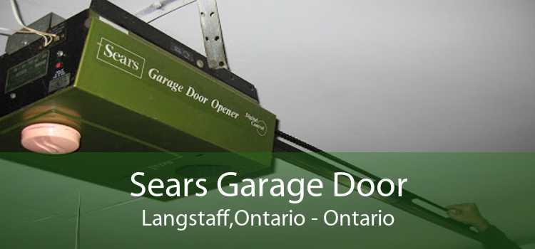 Sears Garage Door Langstaff,Ontario - Ontario