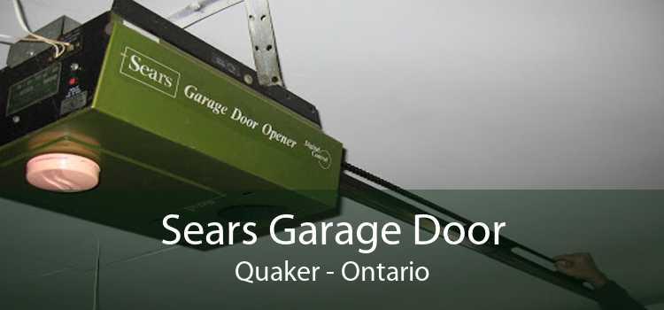 Sears Garage Door Quaker - Ontario