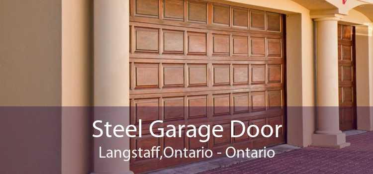 Steel Garage Door Langstaff,Ontario - Ontario