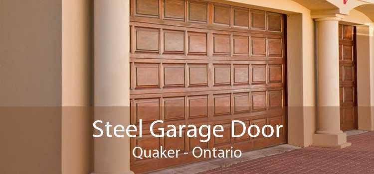 Steel Garage Door Quaker - Ontario
